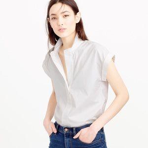 J crew Petite short-sleeve popover shirt